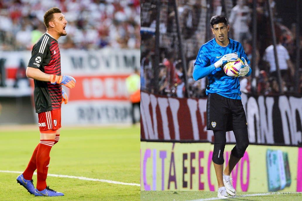 Armani y Andrada fueron convocados por sus buenos momentos en River y Boca 378e8af95d3a5