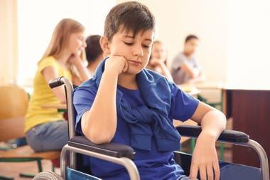 Aunque el 93% de los niños de 6 a 14 años asisten a la escuela, solo el 27% de las personas entre 15 y 39 con discapacidad asiste a establecimientos de educación formal, según datos del Indec de 2018. Foto: Shutterstock