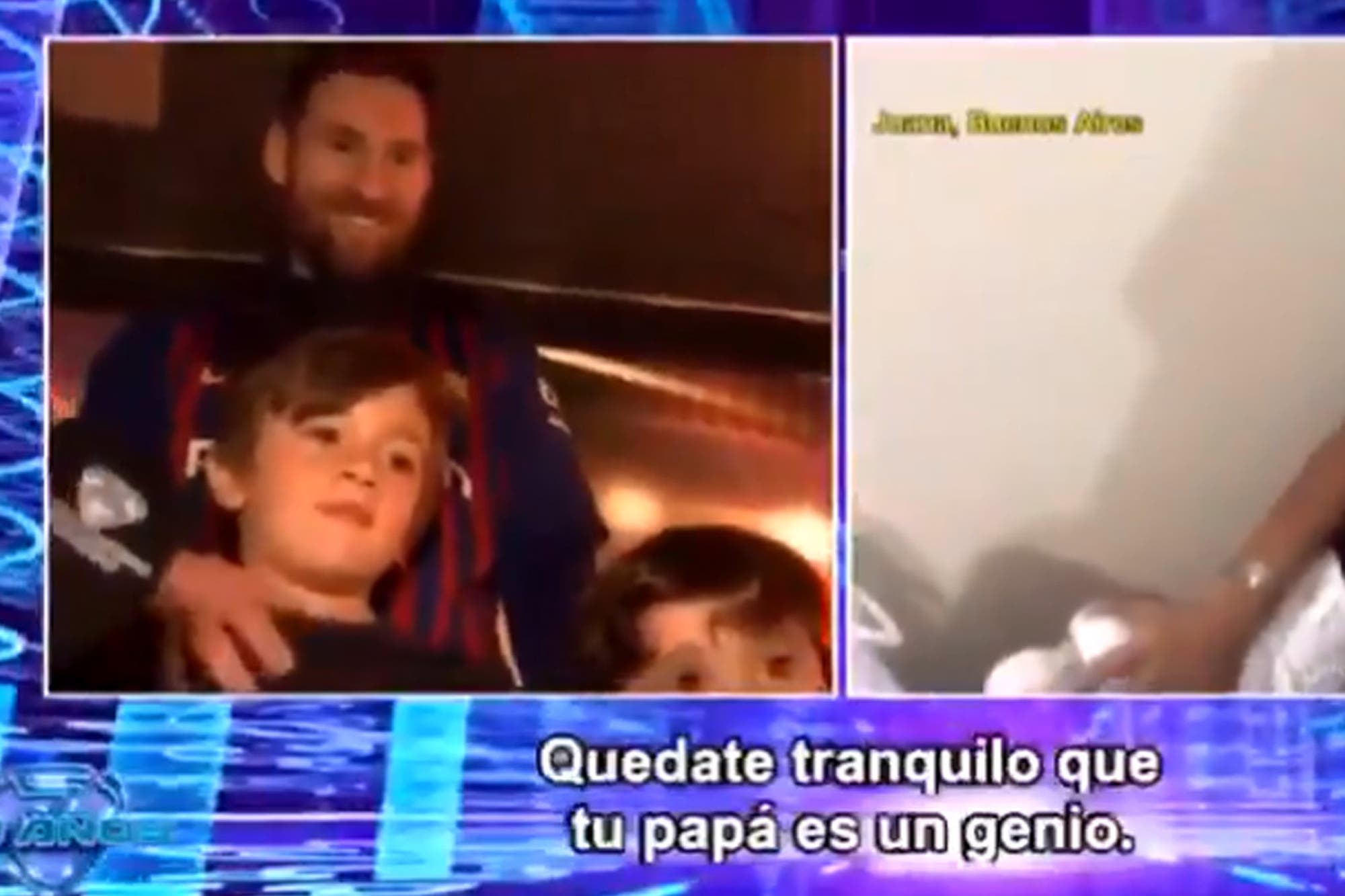 La emoción de Leo y Thiago Messi: chicos argentinos cuentan cómo quieren a la Pulga