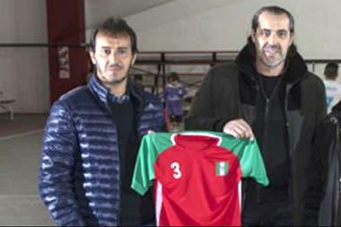 Bocha y Checho: Fernando y Sergio Batista, en el club Parque