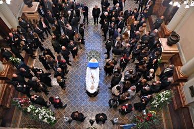 El funeral de Fernando de la Rúa