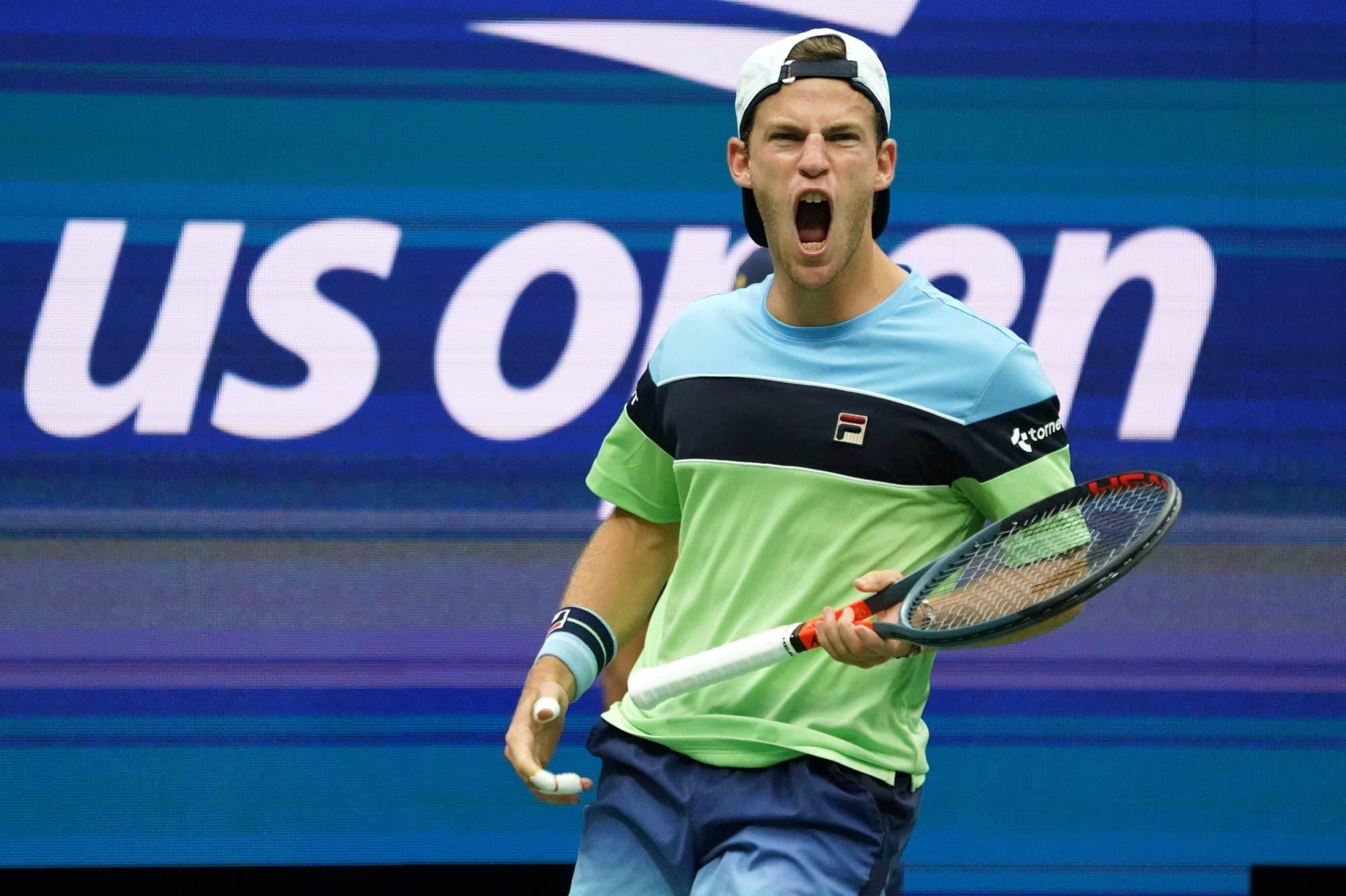 Diego Schwartzman-Alexander Zverev: el argentino pasó a los cuartos de final del US Open con una gran victoria