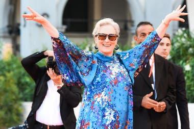 Meryl Streep se reinventa y recauda 24 millones de dólares
