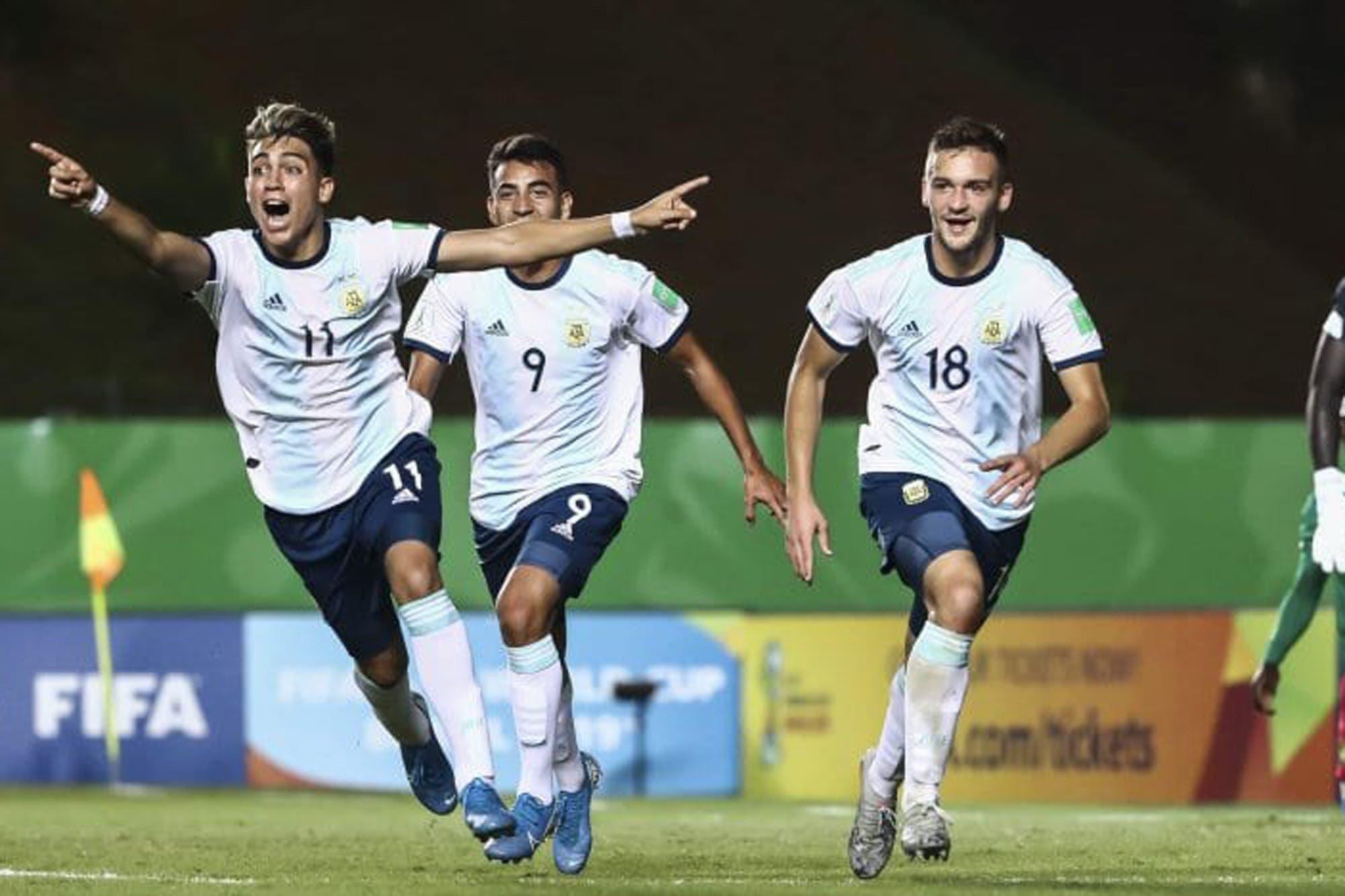Argentina-Paraguay, por el Mundial Sub 17: el equipo de Aimar busca los cuartos de final