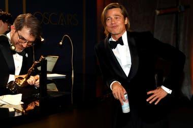 Brad Pitt, a la espera de que terminen de tallar su nombre en su estuilla dorada