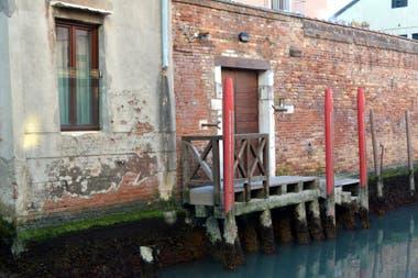 La madera es un integrante clave en los edificios venecianos