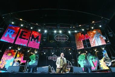 R.E.M en 2003, en Alemania