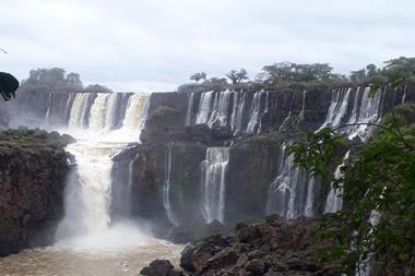 Una de las peores sequías de su historia afectaba desde abril afectaba a una de las principales atracciones turísticas de la Argentina
