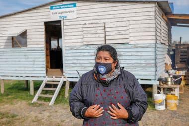 Araceli Ledesma, referente de la Mesa de Trabajo del Barrio Lagomarsino