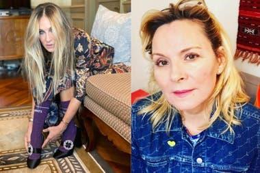 Sarah Jessica Parker y Kim Cattrall: las amigas inseparables de la pantalla, son enemigas en la vida real