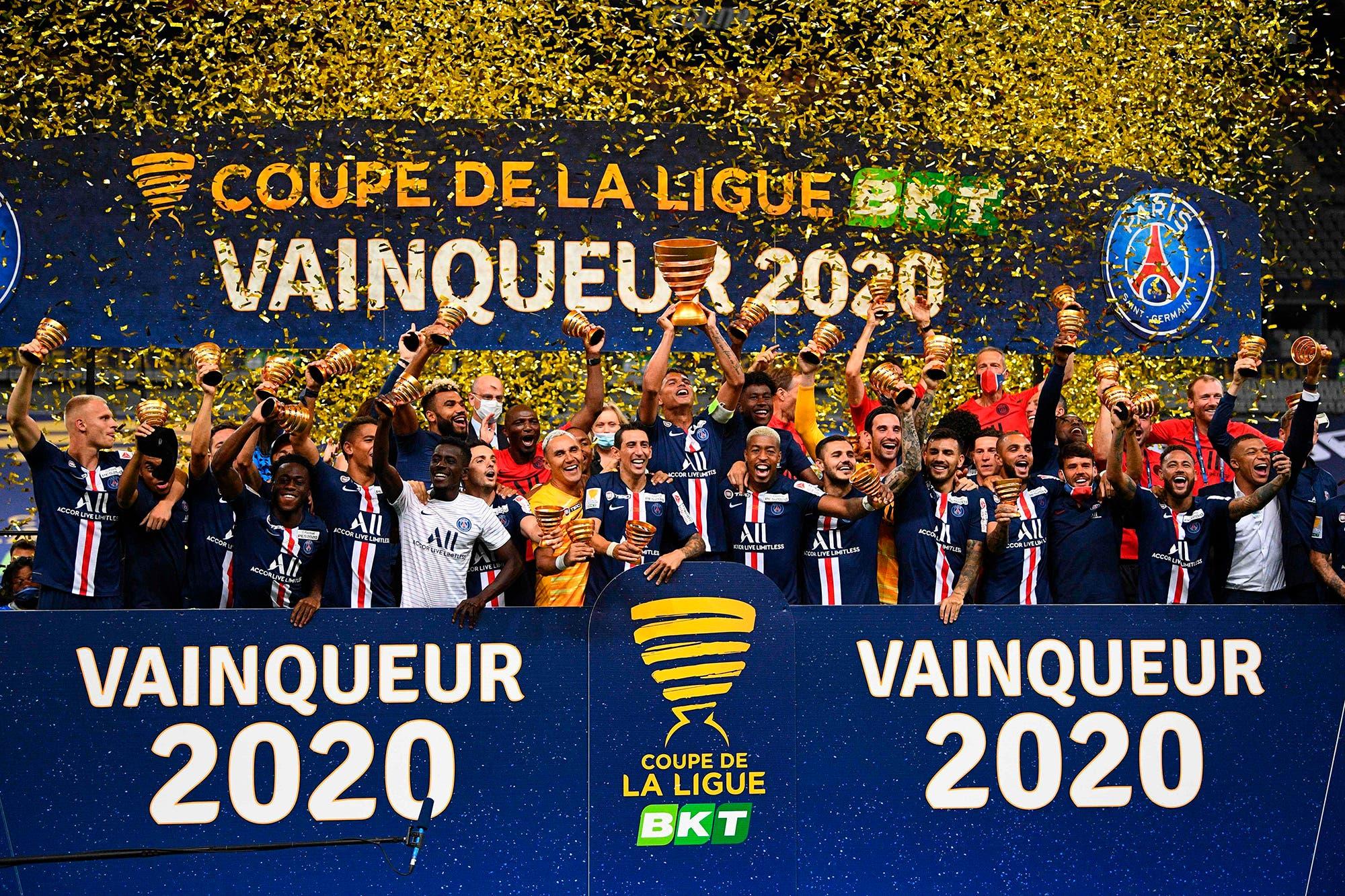 Campeón en los penales: PSG venció a Lyon en la final de la Copa de la Liga y logró su tercer título de la temporada