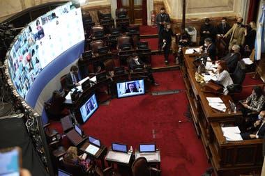 El oficialismo en el Senado convirtió en ley la moratoria impositiva