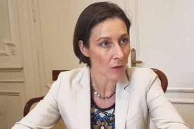 La embajadora Aude Maio-Coliche, en 2018