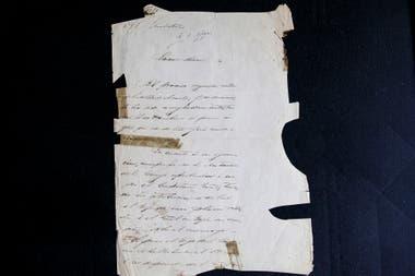 La carta llegó a manos de Borges gracias al coleccionista Pedro Correa do Lago; ahora está en poder de Miguel de Torre Borges