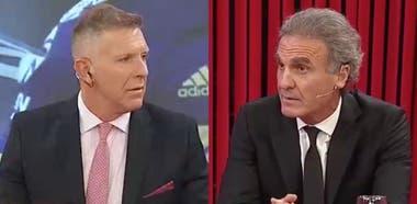 """Alejandro Fantino y Oscar Ruggeri encendieron el debate sobre las """"traiciones"""" en el fútbol"""