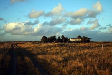Los campos de El Remanso en Mar del Sud donde se construyó la casa hacia finales de los años 50