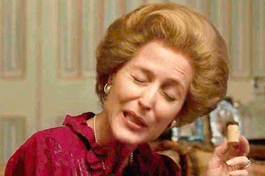 La Margaret Thatcher de Gillian Anderson. ¿Qué música escucharía la Dama de Hierro?