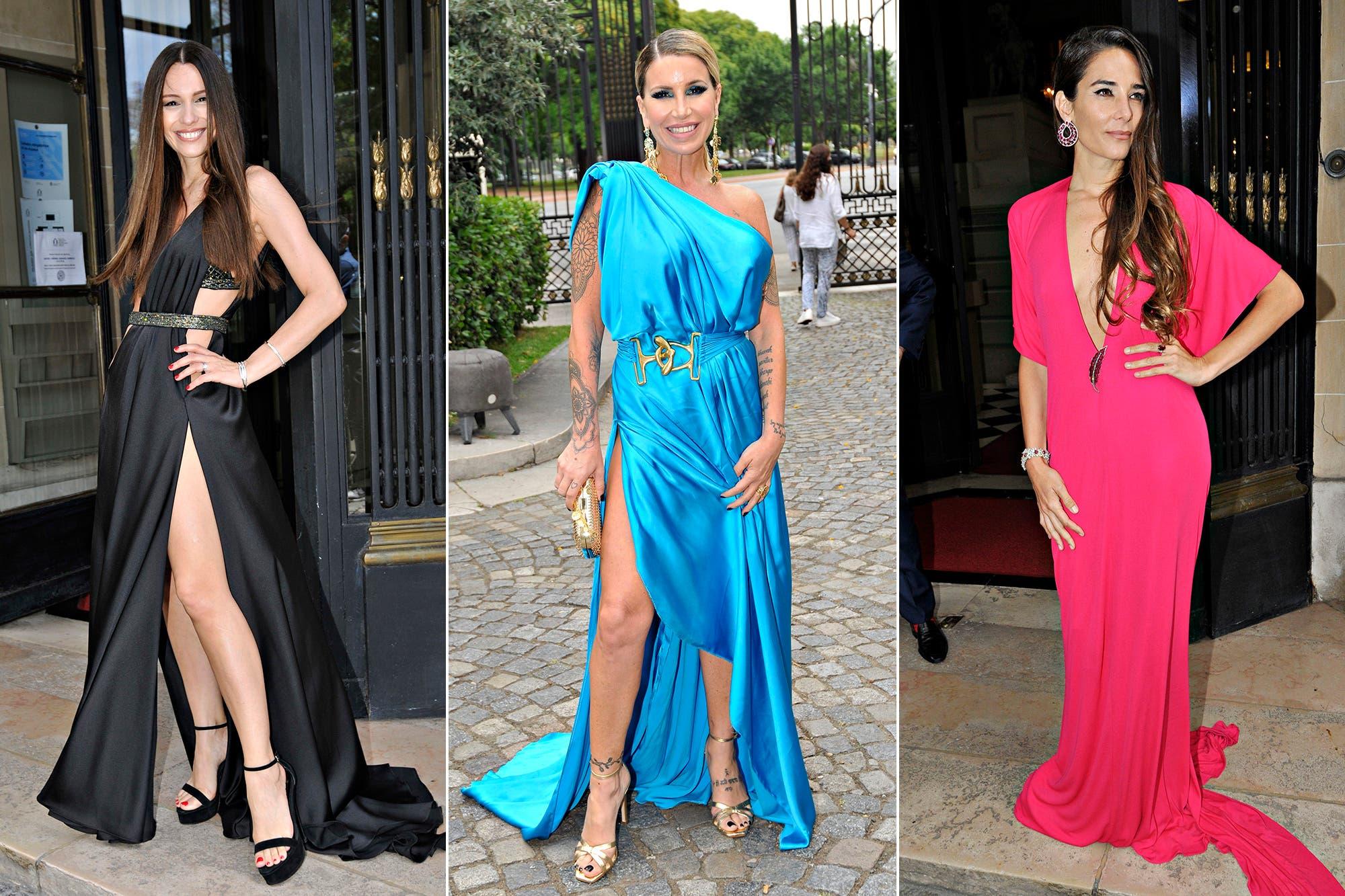 Pampita Ardohain, Flor Peña, Juana Viale y Nicole Neumann, en una tarde con mucho glamour