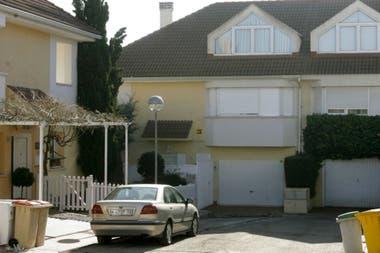 La casa donde vive Isabel Perón, en Villanueva de la Cañada, a 30 kilómetros de Madrid