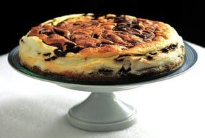 Cheesecake marmolada con toques de dulce de leche