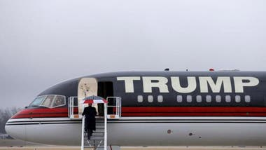 El Trump Force One