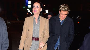 Katy Perry y Orlando Bloom compartieron una salida nocturna