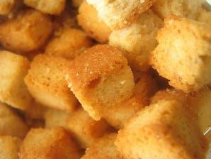 Croutones sin horno