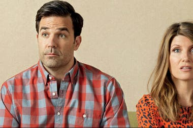 Rob Delaney y Sharon Horgan en Catastrophe