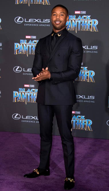 Look total black para Michael B. Jordan