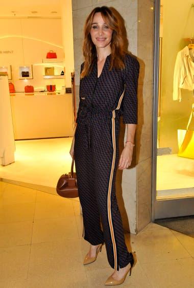 Verónica Lozano, siempre presente en eventos de moda