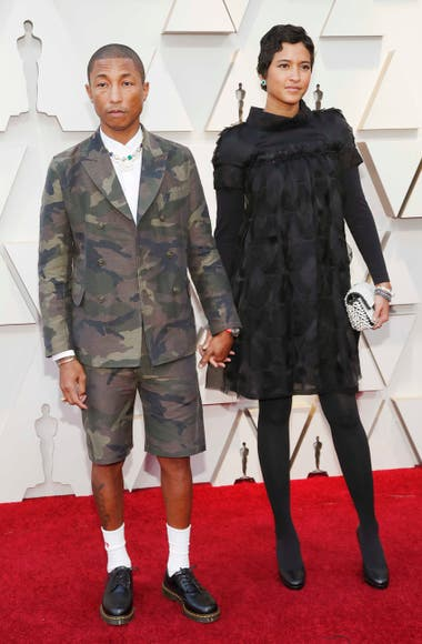 Cero etiqueta: Pharrell Williams y Helen Lasichanh