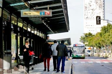 La modalidad debut en 2011 en la avenida Juan B Justo el corredor de la 9 de Julio foto es paradigmtico