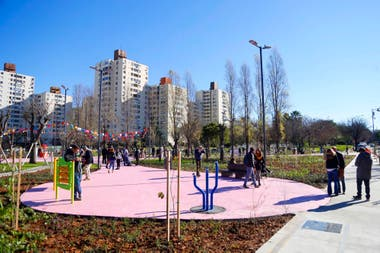 Plaza Clemente en Colegiales