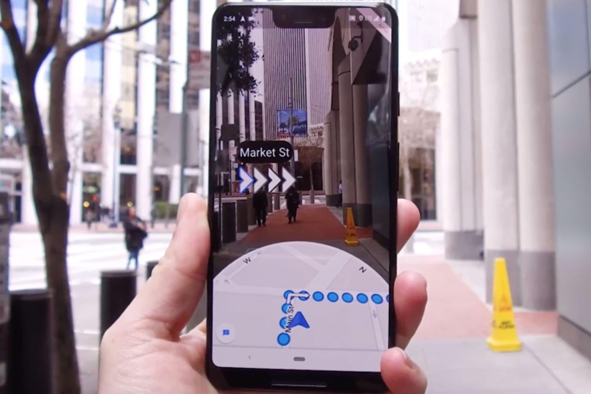 Así funciona Live View, las indicaciones con realidad aumentada de Google Maps al estilo Pokémon Go