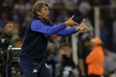 Heinze, encendido: Vélez no pudo quebrar a Boca.
