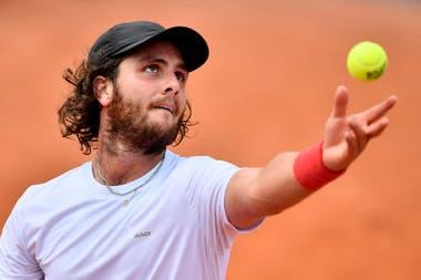 Trungelliti, 231° del ranking, lamentó que Rafael Nadal y Roger Federer no hayan tenido un mensaje fuerte en apoyo de los tenistas más necesitados.