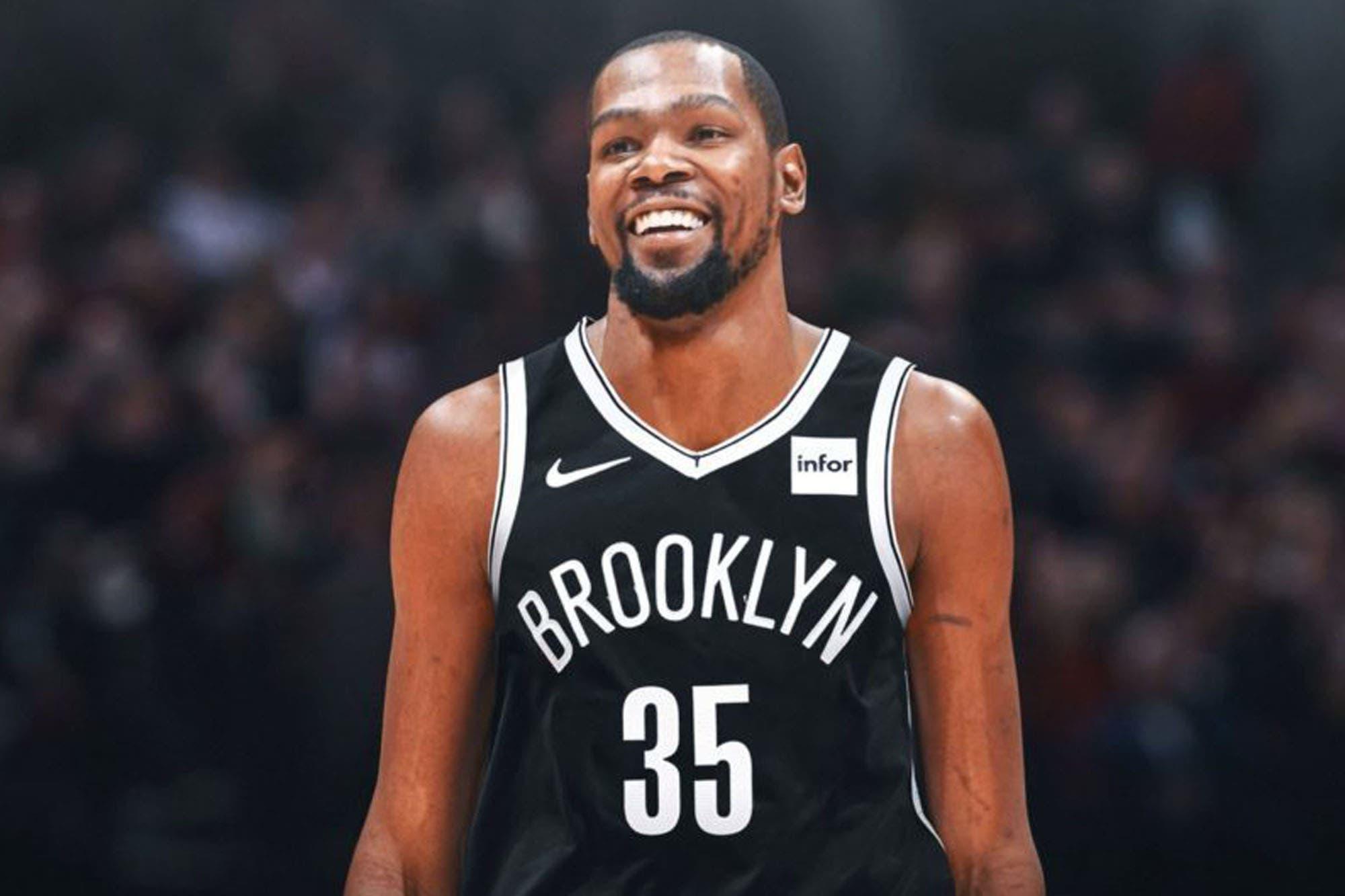 Coronavirus. Kevin Durant dio positivo junto con otros tres jugadores de Brooklyn Nets