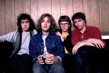 Una imagen de la banda de mediados de los 80