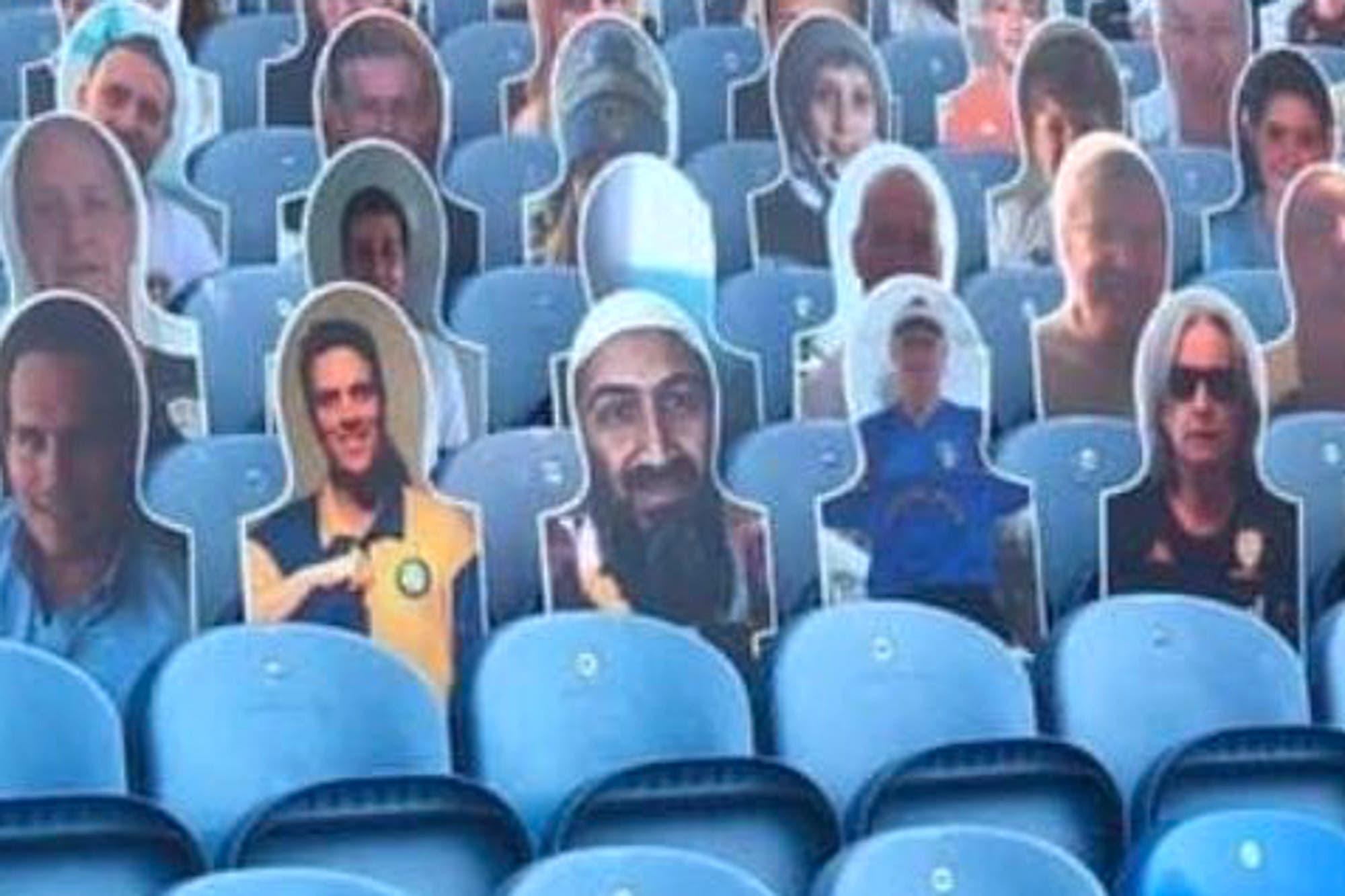 Osama Ben Laden apareció en la tribuna del Leeds de Marcelo Bielsa y hay revuelo en Inglaterra