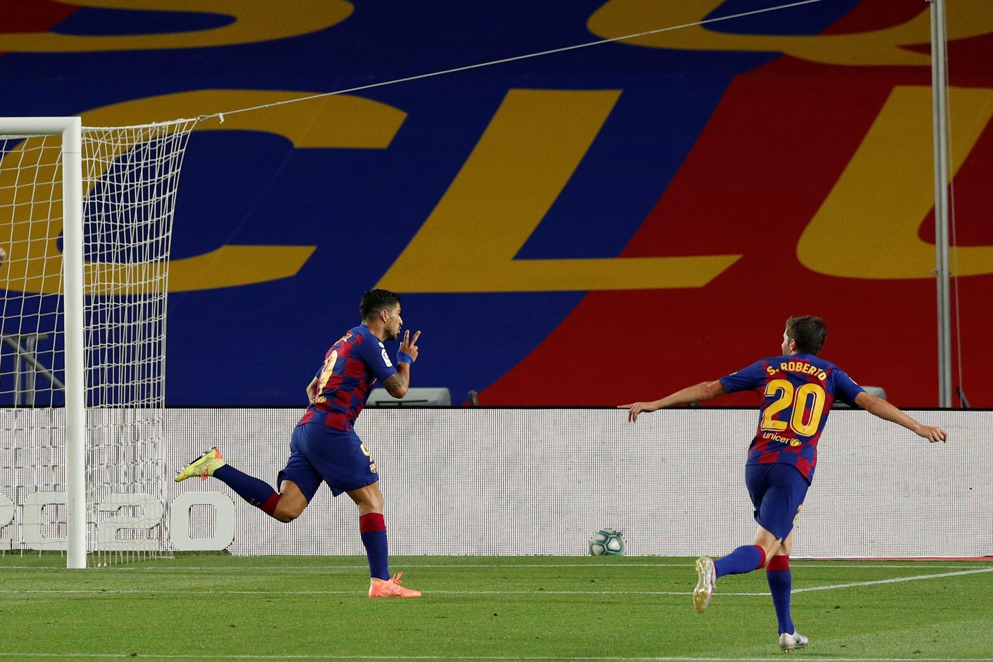 Liga de España: Barcelona ganó 1-0, persigue a Real Madrid y mandó al descenso a Espanyol, su rival catalán