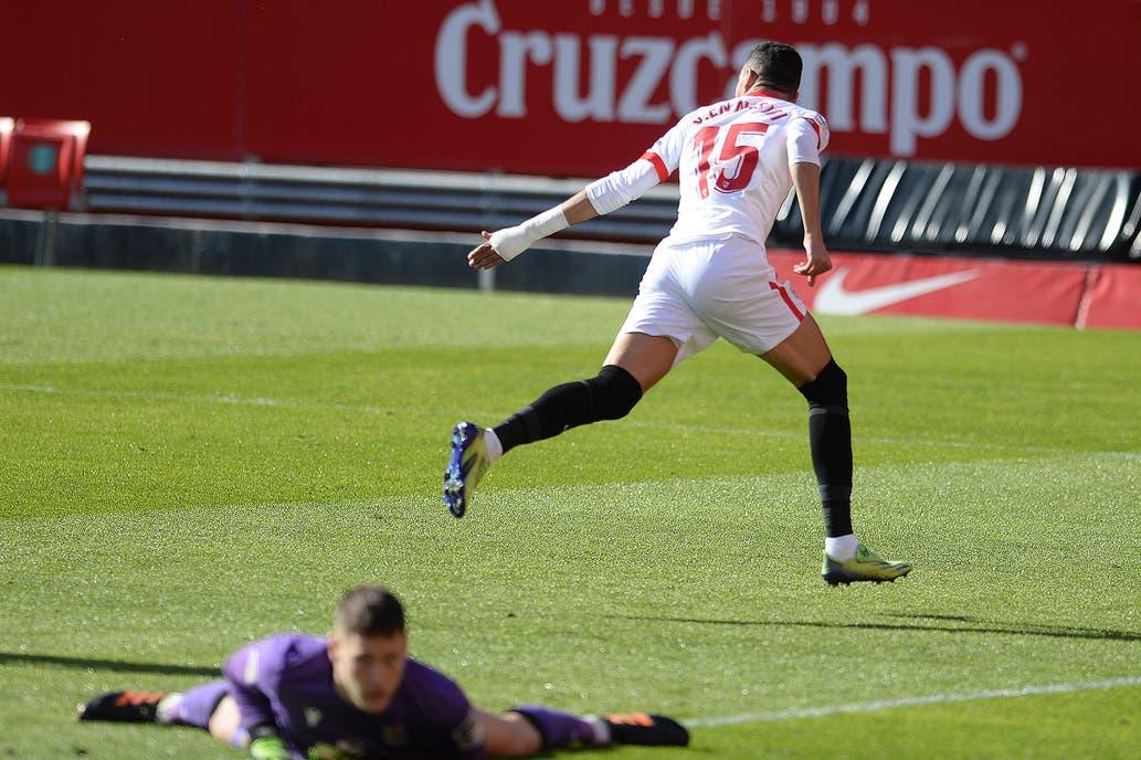 Sevilla-Real Sociedad, por la Liga de España: una ráfaga goles en menos de  diez minutos y el hat trick de Youssef En-Nesyri - LA NACION