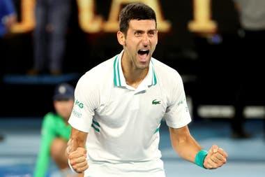 Novak Djokovic derrotó al ruso Daniil Medvedev y conquistó el Australian Open por novena vez en su exitosa carrera.