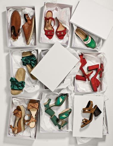 Sandalia de cuero (Uma). 2. Stiletto con estrellas (Markova c1f2230b66d