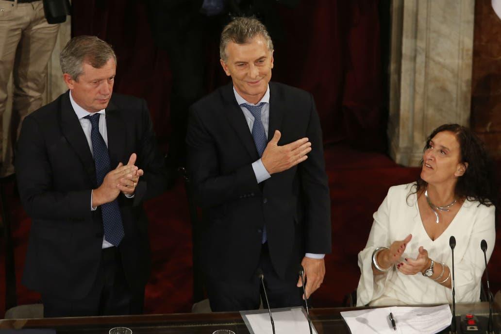 En el Congreso, Mauricio Macri dijo que lo peor ya pasó y prometió años de crecimiento