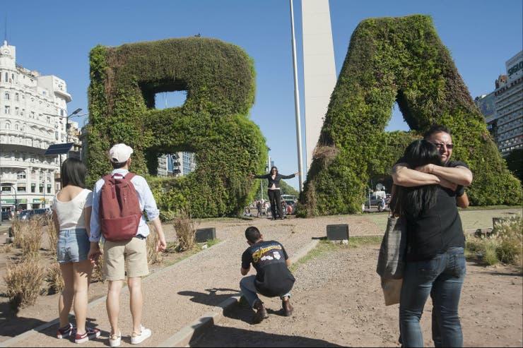 El jardín BA se transformó en un símbolo de Buenos Aires