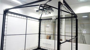 El armado de la CAVE (siglas en inglés para ambiente virtual asistido por computadora) se está realizando en Tandil y posteriormente será trasladada a Bariloche