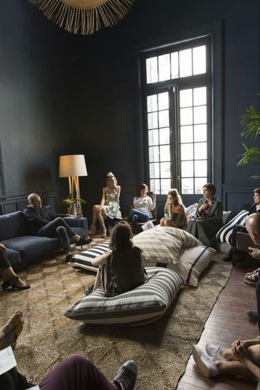 La casa que Art Basel abrió el año pasado en Buenos Aires