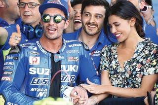 Belen Rodriguez Conoce A La Argentina Que Enciende El Circuito De Moto Gp La Nacion