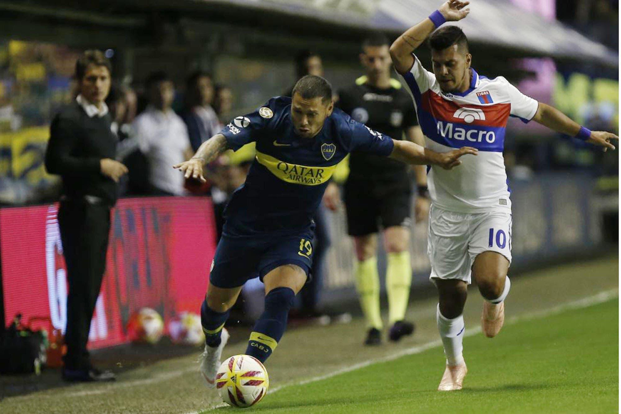 Boca-Tigre, Superliga: el xeneize empata en la Bombonera con un gol de Carlos Tevez