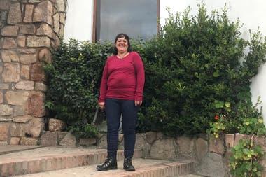 Irma hace unos años hizo el primario en La Cumbrecita, pero tomar la decisión de cursar el secundario le llevó un tiempo: la intimidaban las aulas y los libros